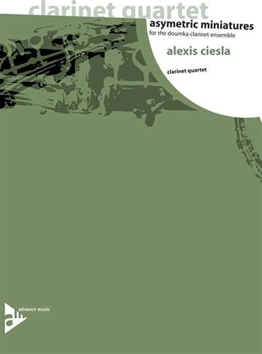 Alexis Ciesla - Asymetric Miniatures - Partition - di-arezzo.co.uk