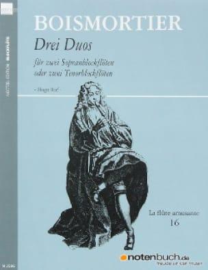 3 Duos - BOISMORTIER - Partition - Flûte à bec - laflutedepan.com