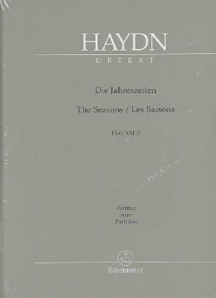 Les Saisons, Oratorio - HAYDN - Partition - laflutedepan.com