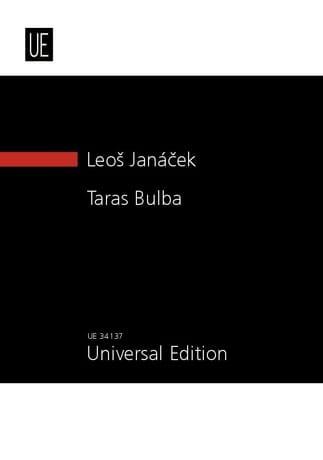 Taras Bulba New study score - JANACEK - Partition - laflutedepan.com
