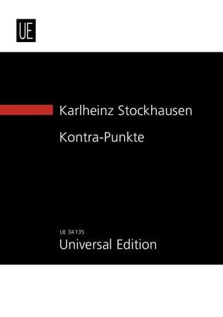 Kontra - Punkte New study score - STOCKHAUSEN - laflutedepan.com