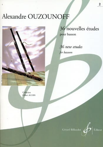 Alexandre Ouzounoff - 36 New Studies Volume 2 - Partition - di-arezzo.com