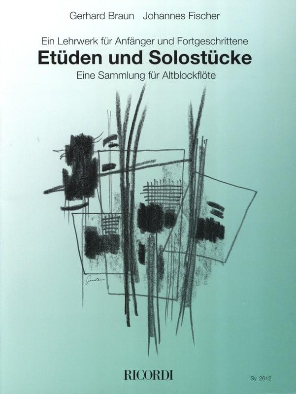 Etüden Und Solostücke - Fischer Braun - Partition - laflutedepan.com