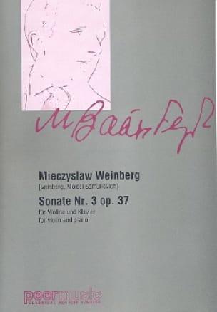 Sonate N° 3 Op. 37 - Mieczyslaw Weinberg - laflutedepan.com