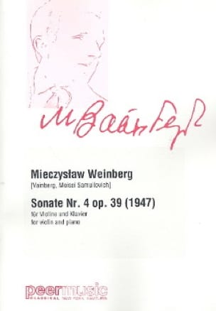 Sonate n° 4 Op. 39 - Violon et piano - laflutedepan.com