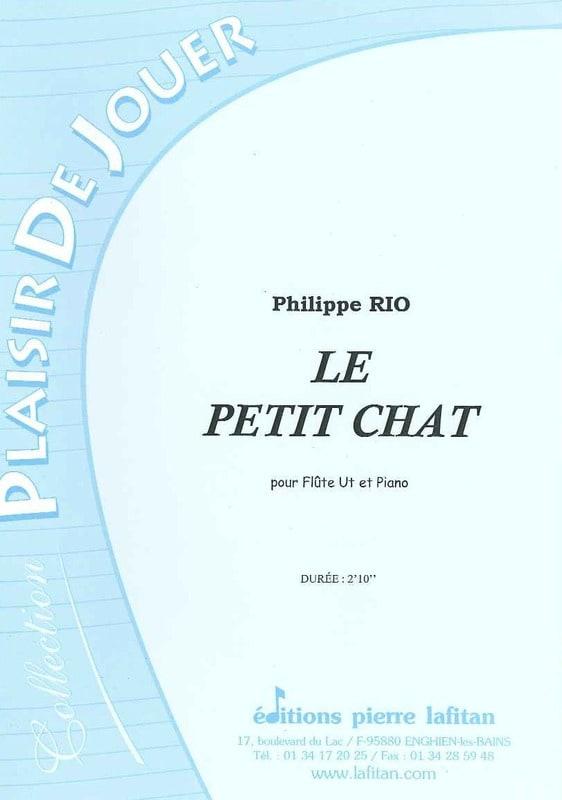 Le Petit Chat - Philippe Rio - Partition - laflutedepan.com