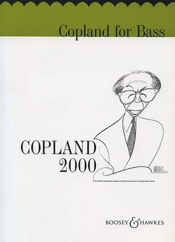 Copland for Bass - COPLAND - Partition - laflutedepan.com