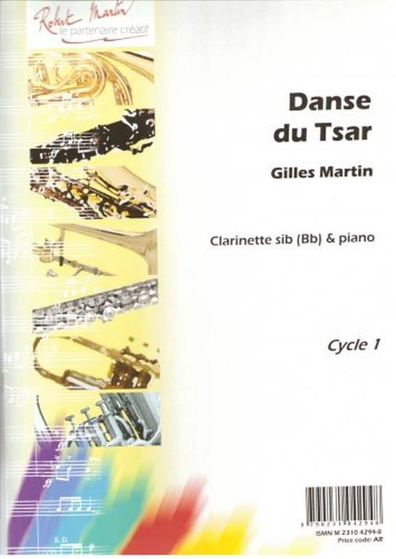 Danse Du Tsar - Gilles Martin - Partition - laflutedepan.com