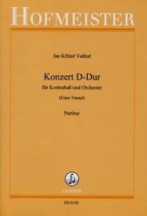 Konzert D-Dur - Partitur - Johann Baptist Vanhal - laflutedepan.com