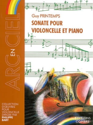 Sonate Pour Violoncelle et Piano - Guy Printemps - laflutedepan.com