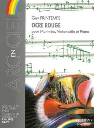 Ocre Rouge - Guy Printemps - Partition - laflutedepan.com