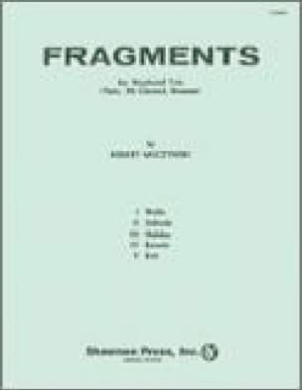 Fragments - Robert Muczynski - Partition - Trios - laflutedepan.com