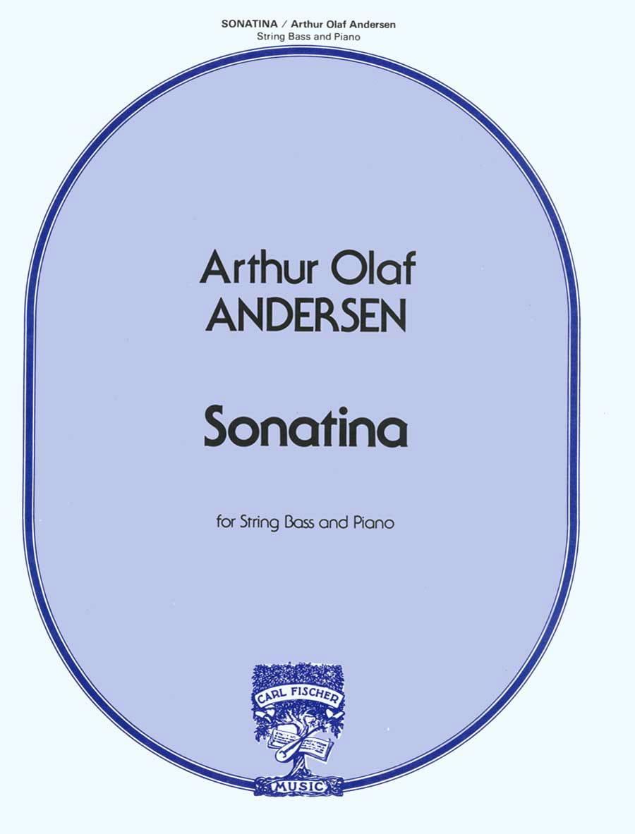 Sonatina - Arthur Olaf Andersen - Partition - laflutedepan.com