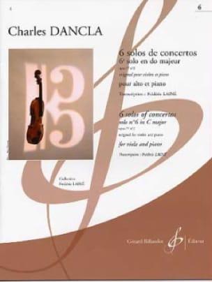 DANCLA - 6th Solo Concerto in C major Op. 77 n ° 2 - Partition - di-arezzo.com