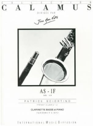 As - If - Patrice Sciortino - Partition - laflutedepan.com