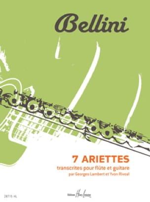 7 Ariettes - BELLINI - Partition - Duos - laflutedepan.com