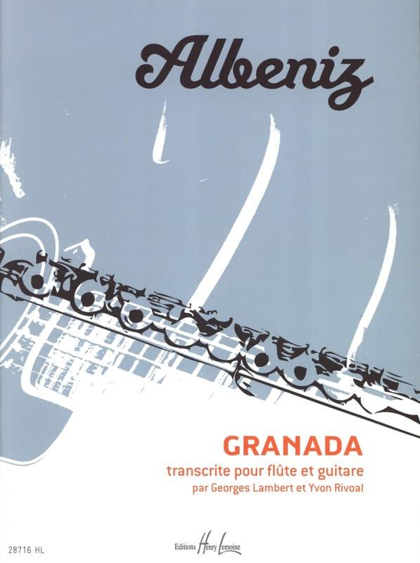 Granada - ALBENIZ - Partition - Duos - laflutedepan.com