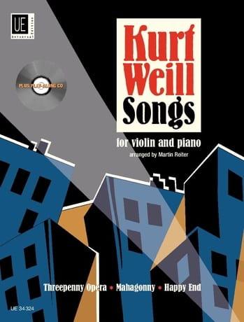 Kurt Weill Songs - Violon piano - WEILL - laflutedepan.com