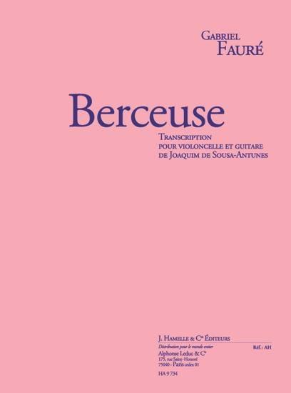 Berceuse Op.16 - FAURÉ - Partition - 0 - laflutedepan.com