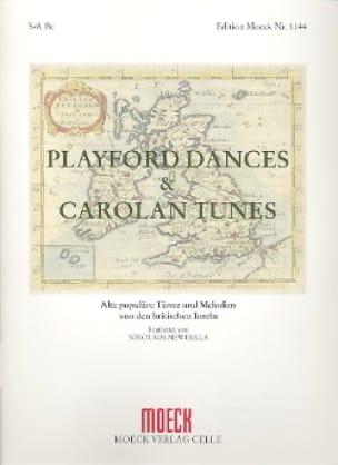 Playford Dances And Carolan Tunes - Partition - laflutedepan.com