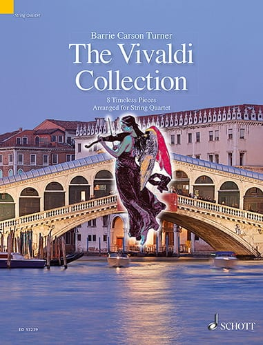 The Vivaldi Collection - Carson Turner Barrie - laflutedepan.com