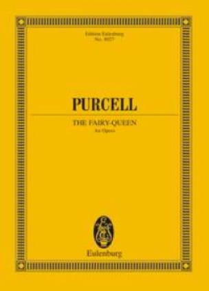 Henry Purcell - The Fairy Queen - Partition - di-arezzo.co.uk