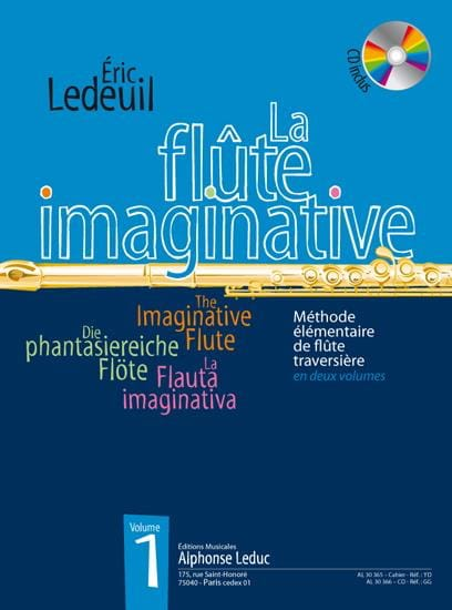 Eric Ledeuil - The Imaginative Flute Volume 1 - Partition - di-arezzo.co.uk