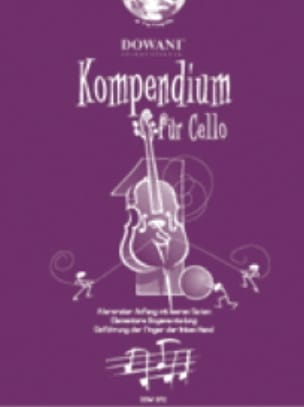 Kompendium Für Cello Volume 1 - Partition - laflutedepan.com