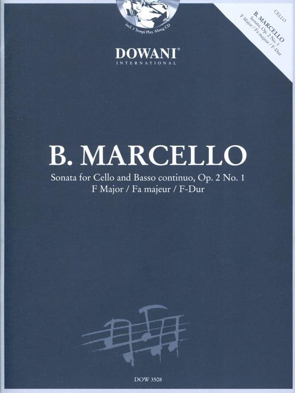 Sonate Op.2 N°1 En Fa Maj. - Benedetto Marcello - laflutedepan.com
