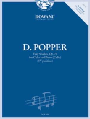 Easy Studies Op.73 = Op.76 N°1 - David Popper - laflutedepan.com