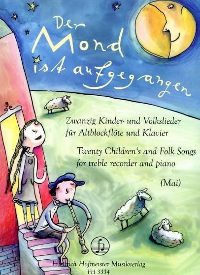 20 Children's And Folk Songs - Peter Mai - laflutedepan.com