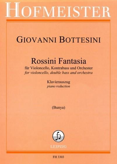 Rossini Fantasia - BOTTESINI - Partition - laflutedepan.com