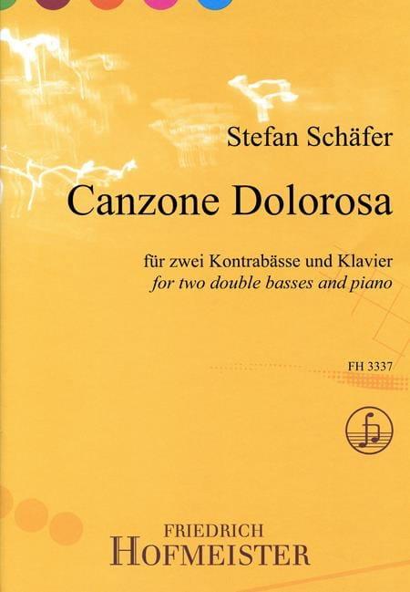Canzone Dolorosa - Stefan Schäfer - Partition - laflutedepan.com