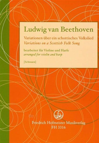 Variations On A Scottisch Folk Song - BEETHOVEN - laflutedepan.com