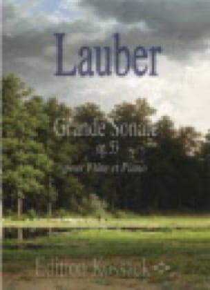 Grande Sonate Op.53 - Joseph Lauber - Partition - laflutedepan.com
