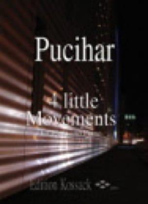4 Little Movements - Blaz Pucihar - Partition - laflutedepan.com