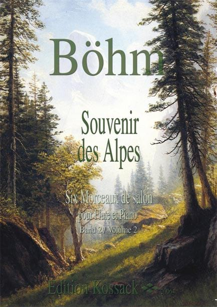 Theobald Boehm - Souvenir of the Alps Volume 2 - Partition - di-arezzo.co.uk