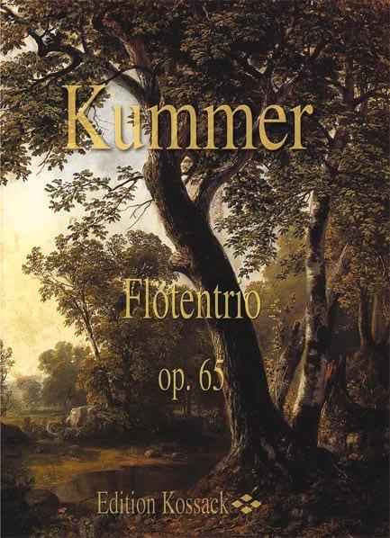 Flötentrio Op. 65 - Gaspard Kummer - Partition - laflutedepan.com