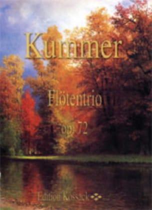 Flötentrio Op.72 - Gaspard Kummer - Partition - laflutedepan.com