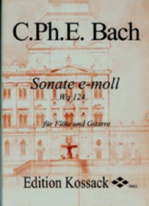 Sonate En Mi Min. Wq 124 - laflutedepan.com