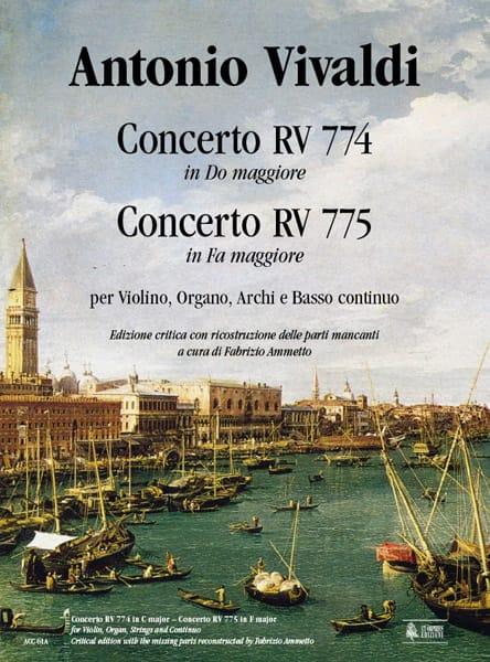 Concerto En Do Maj. Rv.774 & Concerto En Fa Maj. Rv.775 - laflutedepan.com