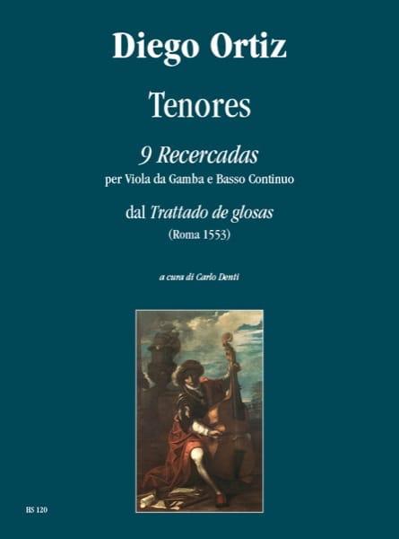 Tenores - 9 Recercadas - Diego Ortiz - Partition - laflutedepan.com