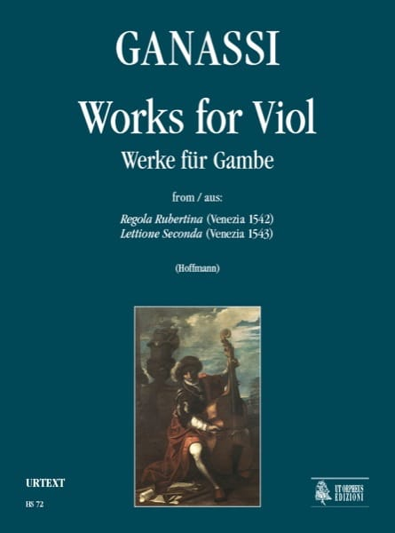 Oeuvres pour Viole de Gambe - Silvestro Ganassi - laflutedepan.com
