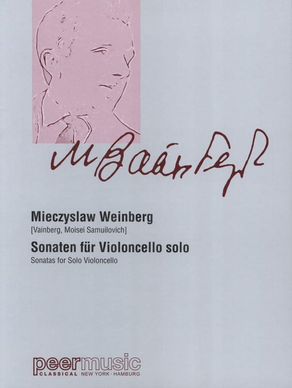 Sonates - Mieczyslaw Weinberg - Partition - laflutedepan.com