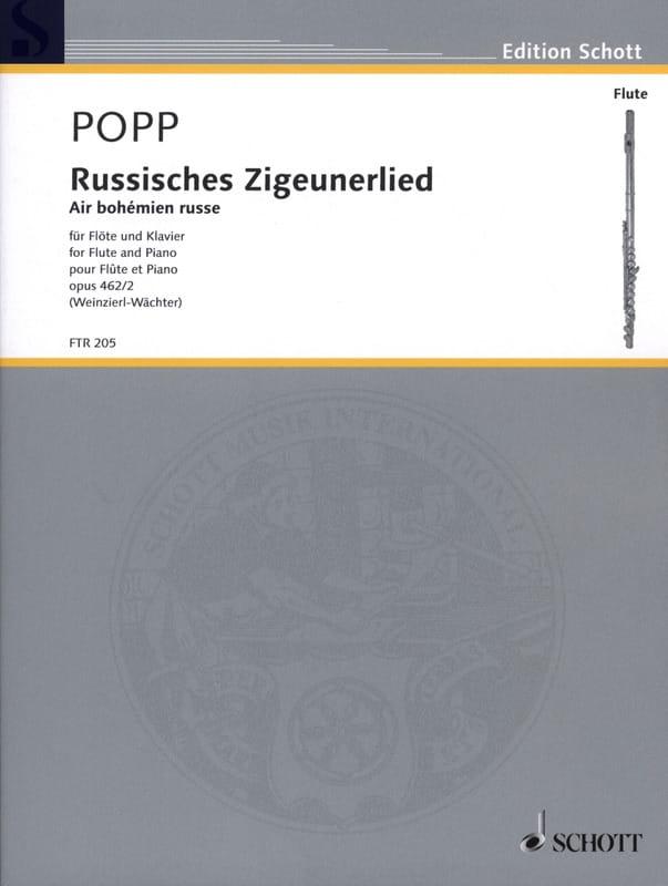 Wilhelm Popp - Russisches Zigeunerlied - Air Bohémien Russe - Opus 462 N° 2 - Partition - di-arezzo.fr