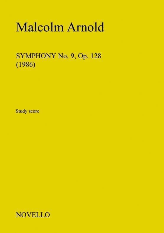Symphonie N°9 Op.128 - Malcolm Arnold - Partition - laflutedepan.com