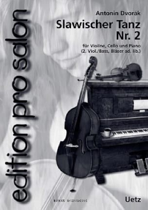 Slawischer Tanz N°2 - DVORAK - Partition - laflutedepan.com