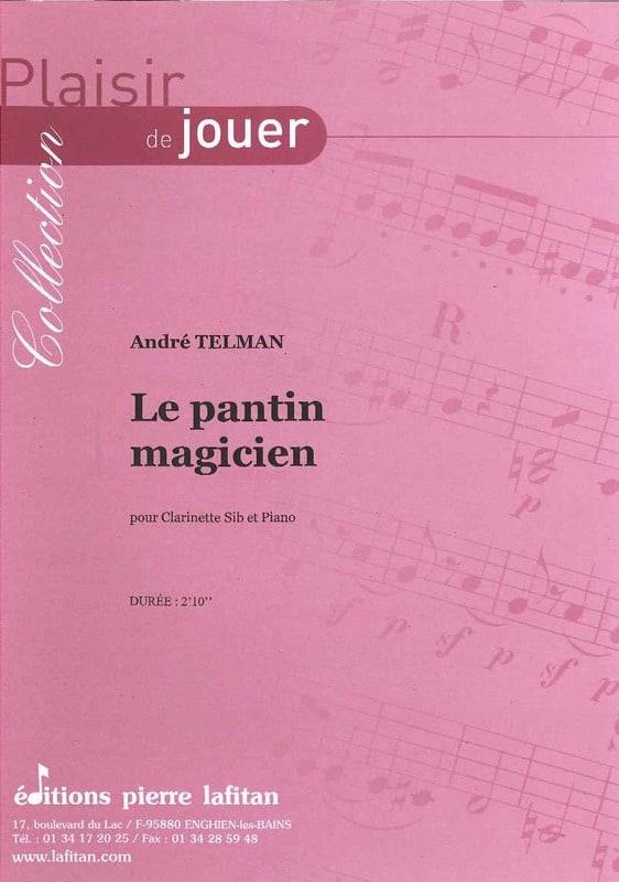 Le Pantin Magicien - André Telman - Partition - laflutedepan.com