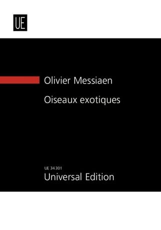 Olivier Messiaen - Exotic Birds 1955/1956 - Partition - di-arezzo.com