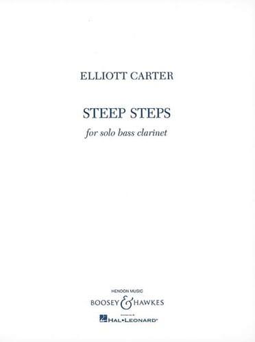 Elliott Carter - Pasos empinados - Partition - di-arezzo.es